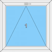 003 Fenster einfügelig, kippbar